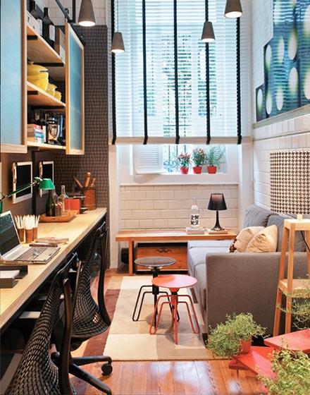 家庭工作室案例|信阳装修效果图|信阳紫名都装饰工程